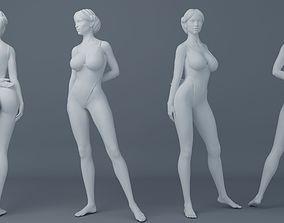 3D print model Fullness woman wearing swimsuit 003