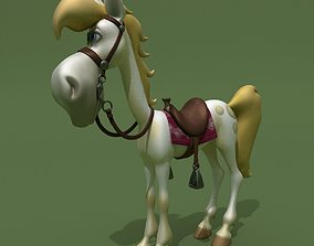 3D model Cartoon Horse Jolly Jumper