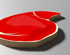 3D model Cartoon Meat