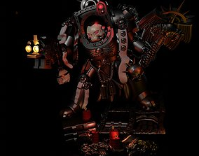 Chaplain in Terminator Armor 3D printable model