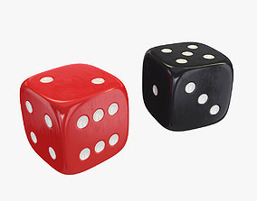 3D model Red Black Dice