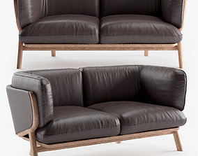 STANLEY 2 Seat Sofa 3D de