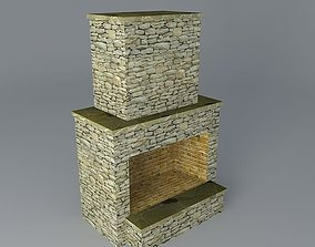 3D model Standard Fireplace