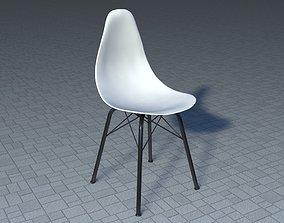 chair Plastic Chair 3D