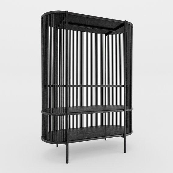Bastone Cabinet Black