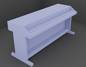 Piano model for print