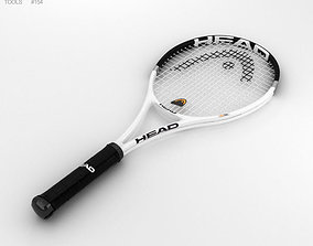 Tennis Racquet childrens 3D
