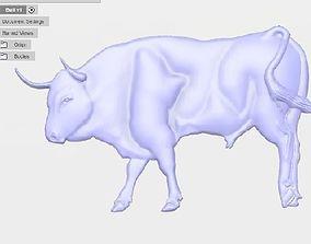 Bull STL 3D printable model