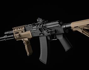 3D asset AK 74 Tactical