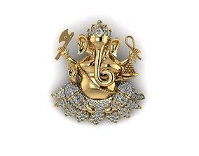 Hindu God Ganesha 3D printable model