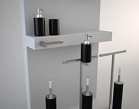 3D asset Antonio Lupi accessories set - Just
