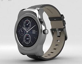 LG Watch Urbane Silver 3D model