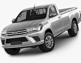 Toyota Hilux Regular Cab 2016 3D model