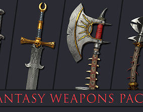 3D asset Fantasy Weapons Pack
