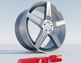 Mercedes-Benz AMG Rims 3D