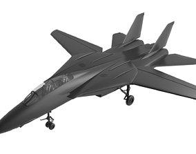 F14 tomcat 3D asset