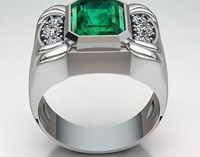 menbandring 3D printable model Ring Man