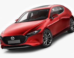 Mazda 3 hatchback 2019 3D