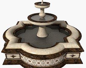3D model Fountain 08