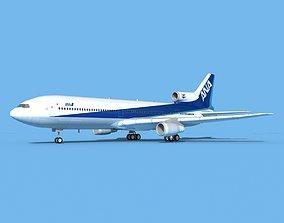 Lockheed L-1011 All Nippon Airways 3D model