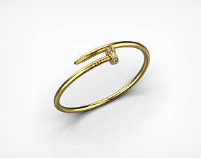 3D printable model Bracelet Nail hardware