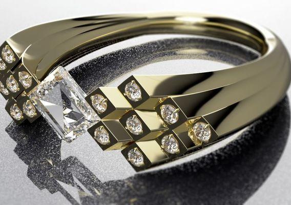 Custom Diamond Ring