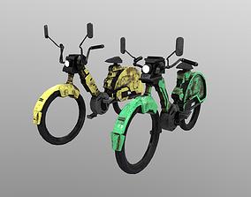 3D model Cyberpunk Motorcycle