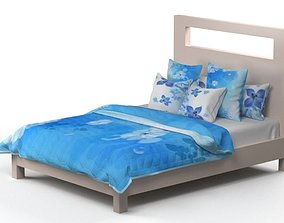 bed model furniture flowers