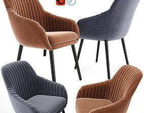 3D Rochelle Strip Lounge Chair