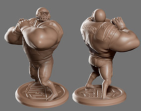 3D printable model Stylized NFL Player - Chibi World