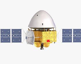 3D model Tianwen Mars probe exploration mission CASC 2