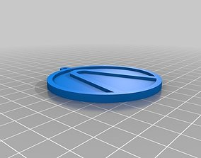 3D print model Borderlands Keychain Fob