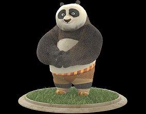 3D model Kung fu panda Po