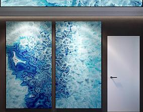3D model Wall Panel Set 66