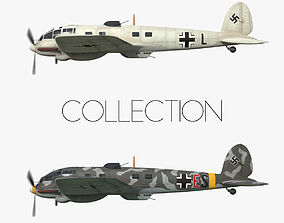 Heinkel He 111 - Norway Collection 3D model