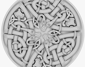 Celtic Ornament 25 3D