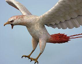 3D asset Fantasy White Eagle