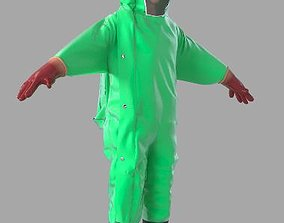 3D Chemical protection clothing