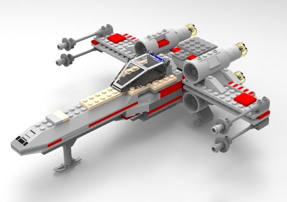 Modular Brick X-Wing