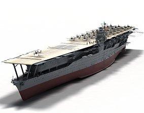Akagi IIWW Carrier 3D