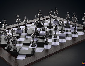3D print model Kingdom Hearts Chess