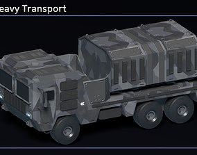 Scifi Mule Heavy Transport 3D model