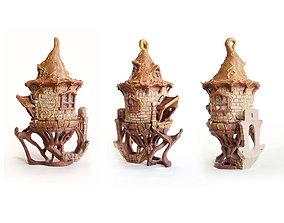 BIRDHOUSE -3 PIECES 3D printable model