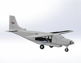 Cessna 208 Caravan 3D