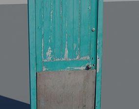 3D Door 26 wooden