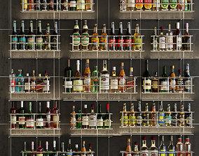 3D model Large bar 7 Alcohol