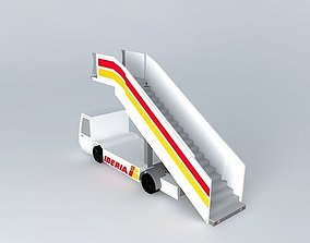 Iberia Airlines Airstairs 3D model