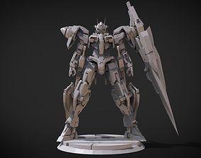 3D print model Gundam 00 7 Swords