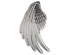 3D print model 20mm Single Wing Slider Pendant