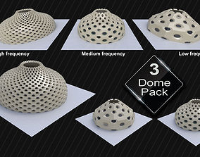 Dome variations high frequency low frequency 3D model